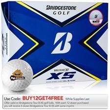 Bridgestone Tour B XS Custom Logo Golf Balls