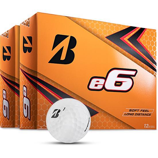 Bridgestone e6 Golf Balls - 2 Dozen
