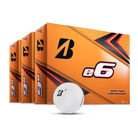 Bridgestone e6 Golf Balls - Buy 2 DZ Get 1 DZ Free