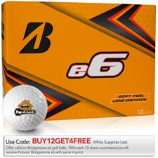 Bridgestone e6 Custom Logo Golf Balls