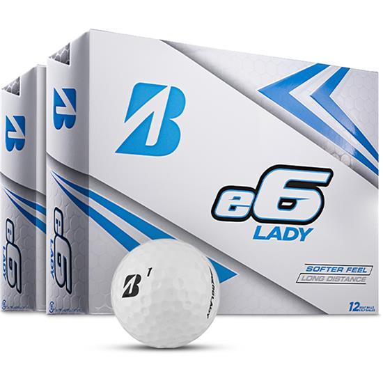Bridgestone e6 Lady Golf Balls - 2 Dozen