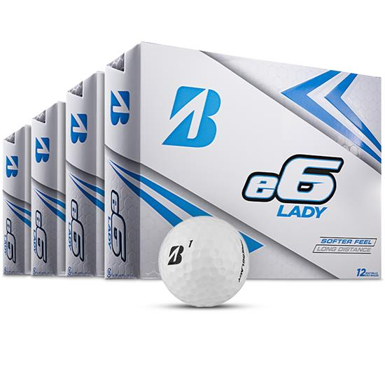 Bridgestone e6 Lady Golf Balls - Buy 3 DZ Get 1 DZ Free