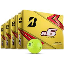 Bridgestone e6 Yellow Golf Balls - Buy 3 DZ Get 1 DZ Free