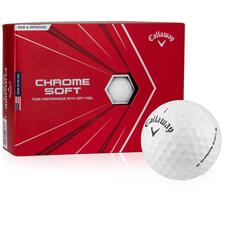 Callaway Golf 2020 Chrome Soft Custom Logo Golf Balls