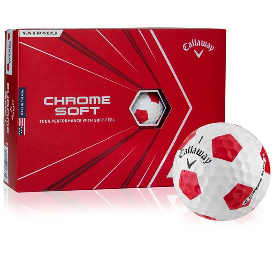Callaway Golf 2020 Chrome Soft TruVis Golf Balls