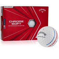 Callaway Golf Chrome Soft Triple Track Novelty Golf Balls