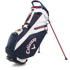 Callaway Golf Fairway 14 Stand Bag - Navy-Red Flag