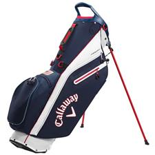 Callaway Golf Fairway C Personalized Stand Bag Double Strap - Navy-White-Red-USA Flag