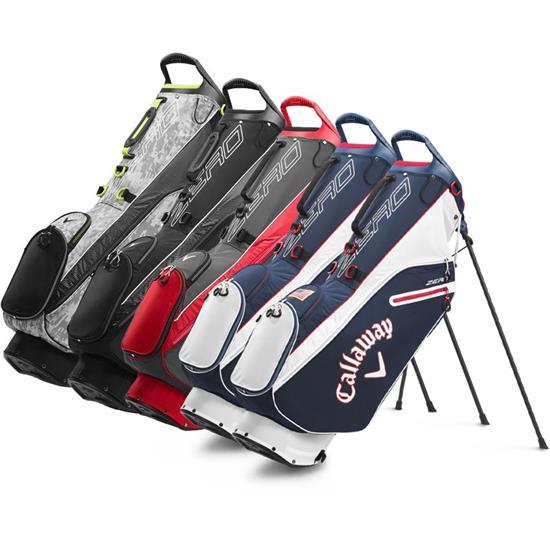 Callaway Golf Hyperlite Zero Double Strap Stand Bag 2020 Model