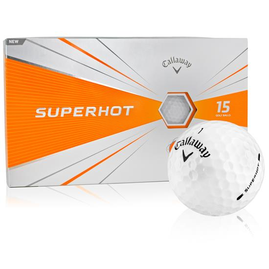 Callaway Golf Superhot Golf Balls - 15-Ball Pack