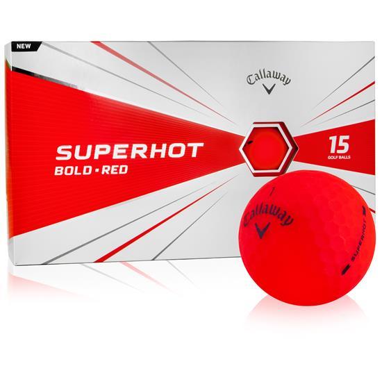 Callaway Golf Superhot Red Golf Balls - 15-Ball Pack