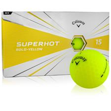 Callaway Golf Superhot Yellow Personalized Golf Balls - 15-Ball Pack