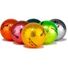 Chromax Logo Overrun Metallic Mixed Color M5 Golf Balls - 6-Pack