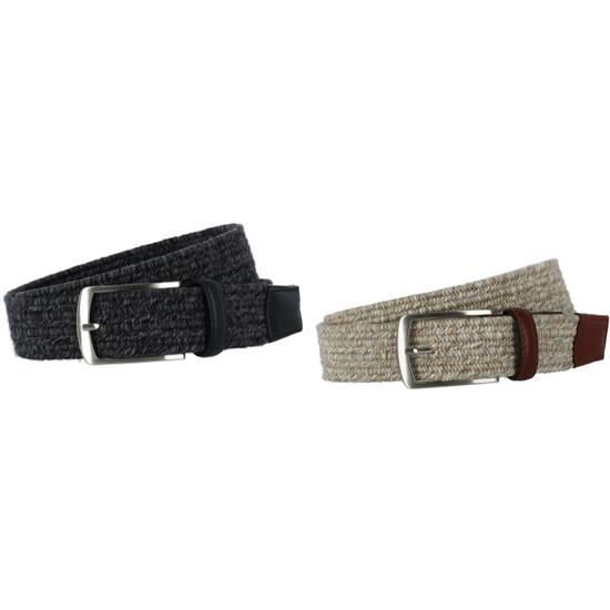 Greg Norman Heather Braided Stretch Belt