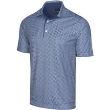 Greg Norman Men's M75 2Below Sharkfin Foulard Polo
