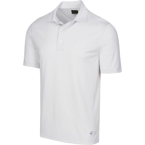 Greg Norman Men's Micro Dot Jackquard Polo