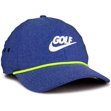 Nike Men's Aerobill Classic 99 Rope PGA Personalized Hat - Deep Royal Blue-Anthracite-Sail