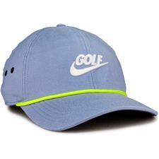 Nike Men's Aerobill Classic 99 Rope PGA Personalized Hat - Indigo Fog-Anthracite-Sail