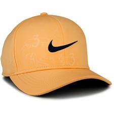 Nike Men's Classic 99 Print Hat - Celestial Gold-Anthracite-Obsidian - Large/X-Large
