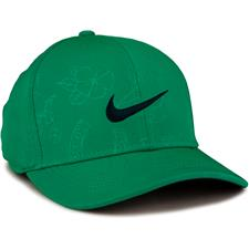 Nike Men's Classic 99 Print Hat - Neptune Green-Anthracite-Obsidian - Large/X-Large