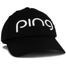 PING Aero  Hat for Women - Black-White