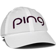 PING Aero Hat for Women - White-Magenta