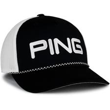 PING Men's Rope Mesh Hat - Black