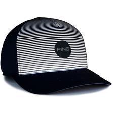 PING Men's Sport Stripe Personalized Hat - Navy
