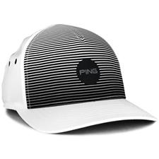 PING Men's Sport Stripe Hat - White