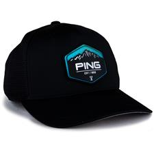 PING Men's Summit Patch Hat - Black