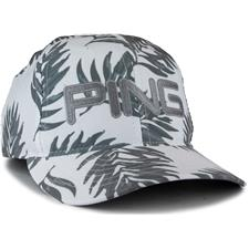 PING Men's Tour Lite Personalized Hat - White-Leaf