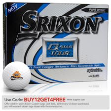 Srixon Q-Star Tour 3 Custom Logo Golf Balls