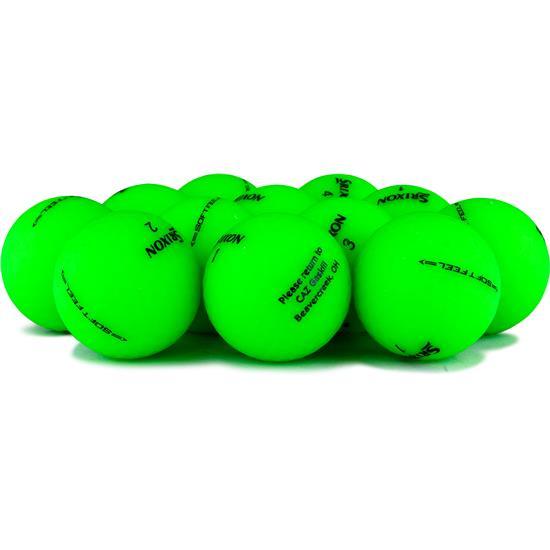 Srixon Soft Feel Brite Green Golf Ball