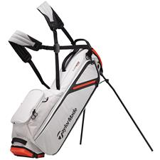 Taylor Made Flextech Lite Stand Bag - Silver-Blood Orange