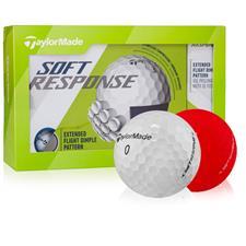 Taylor Made Soft Response Golf Balls - Launch 15-Ball Pack