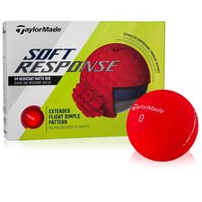 Taylor Made Soft Response Red Custom Logo Golf Ball