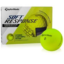 Taylor Made Custom Logo Soft Response Yellow Golf Ball