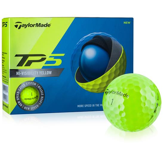 Taylor Made Prior Generation TP5 Yellow Golf Balls