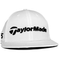 Taylor Made Men's Tour Flatbill Hat - White