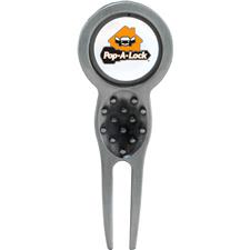 Titan Golf Custom Logo Slider Divot Tool with Logo Ball Marker