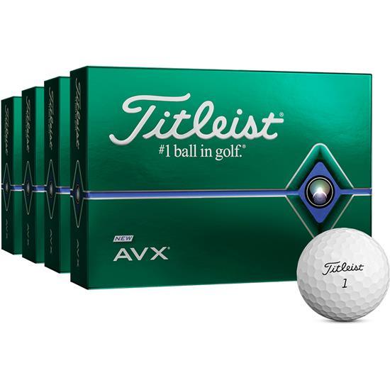 Titleist AVX Golf Balls - Buy 3 DZ Get 1 DZ Free