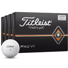 Titleist Pro V1 AIM Golf Balls - Buy 3 DZ Get 1 DZ Free