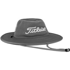 Titleist Men's Tour Aussie Mesh Hat - Grey-White