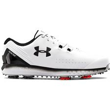 Under Armour White HOVR Drive GTX Golf Shoes