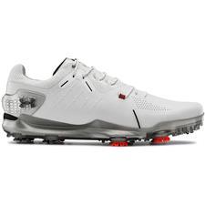Under Armour White Spieth 4 GTX Golf Shoes