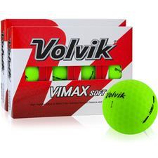Volvik VIMAX Soft Matte Green Golf Balls - 2 Dozen