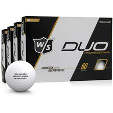 Wilson Staff DUO Professional Golf Balls - Buy 3 DZ Get 1 Free