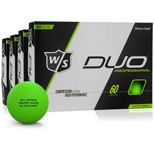 Wilson Staff DUO Professional Green Golf Ball - Buy 3 Get 1
