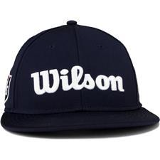 Wilson Staff Men's Tour Flat Brim Hat - Navy