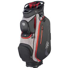 Wilson Staff Xtra Cart Bag - Black-Grey-Red